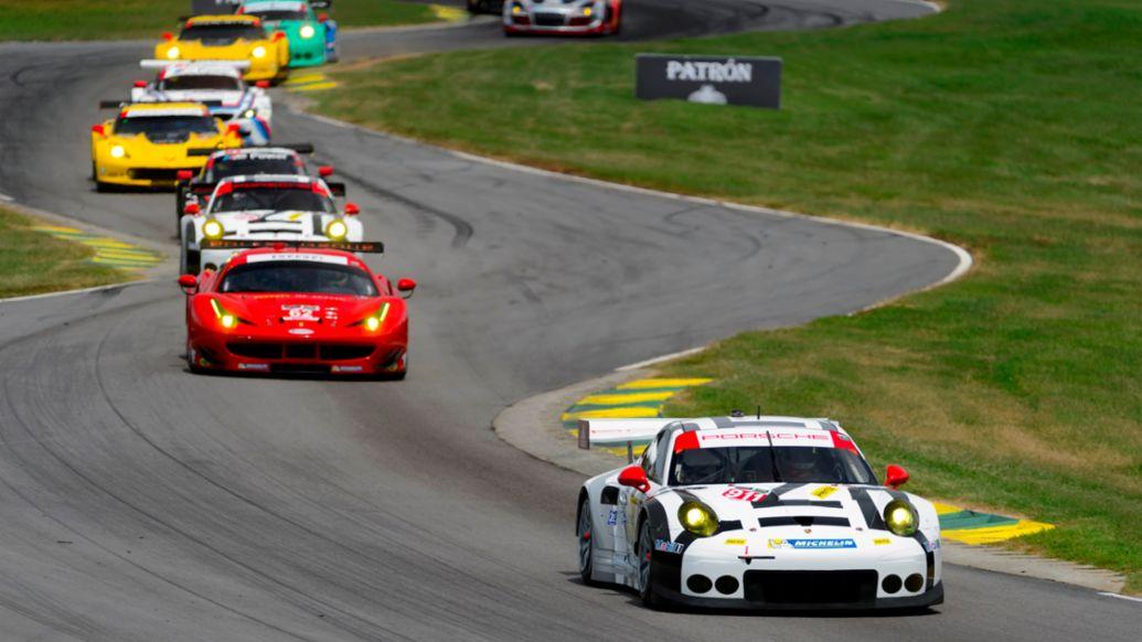 Porsche 911 RSR, Nick Tandy, Patrick Pilet, Alton Virginia 2015, Porsche AG