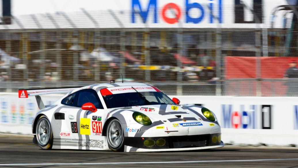 Porsche 911 RSR, Porsche North America, 2015, Porsche AG