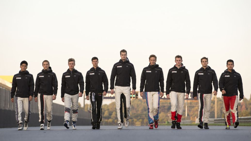 Porsche International Cup Scholarship, Valencia, 2014, Porsche AG