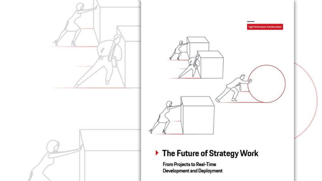 The Future of Strategy Work, 2019, Porsche AG