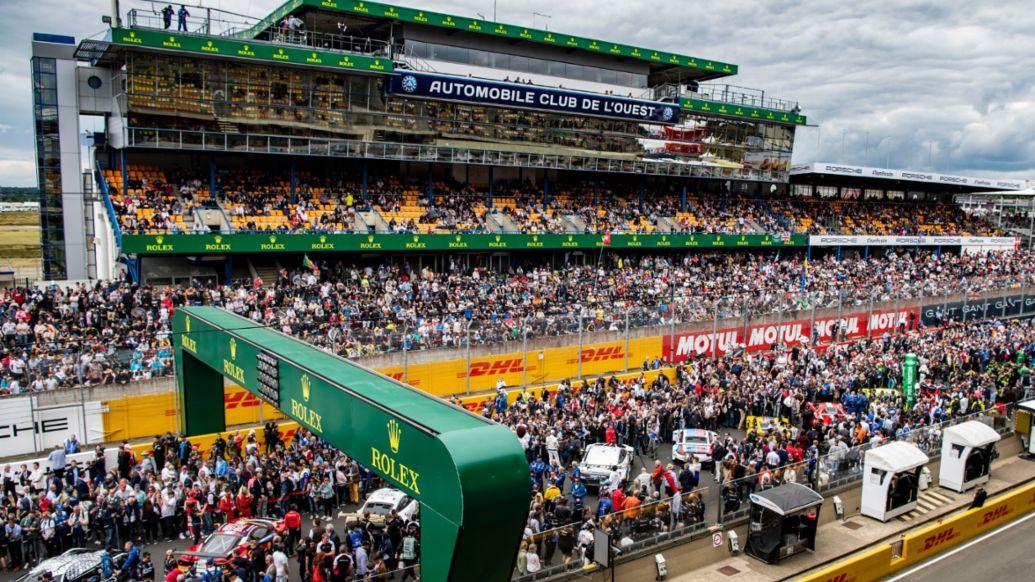 Vorbereitungen, FIA WEC, Le Mans, 2019, Porsche AG