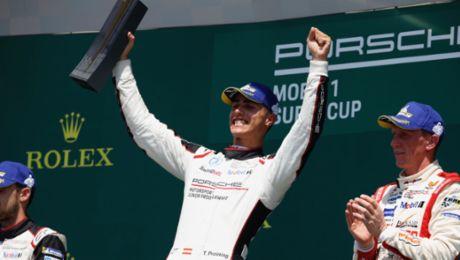 PMSC: Porsche-Junior Preining siegt in Budapest