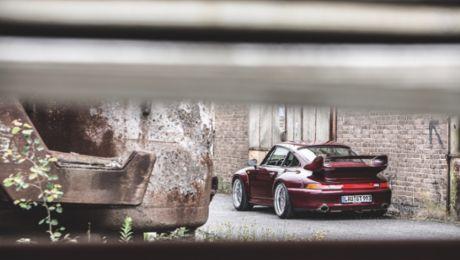 El Porsche 911 GT2 de Jan