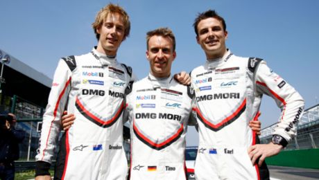 Bamber, Bernhard and Hartley are the long-distance kings