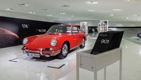 Das Porsche Museum zeigt seinen ältesten 911