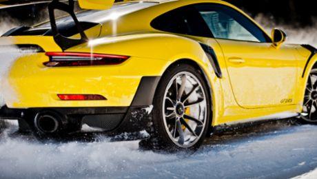 Возрождение традиции: «Ледовая гонка» Porsche