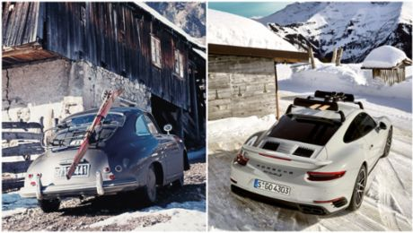 History repeating: Porsche up the Alps