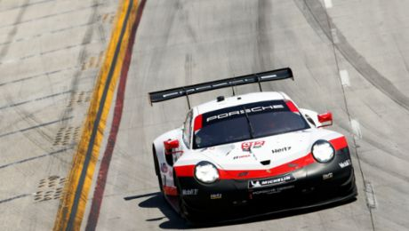 Strong performance of the 911 RSR goes unrewarded