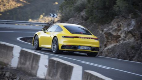 Porsche on track with seven percent increase in sales revenue