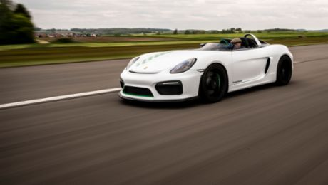 One of a kind: the Porsche Boxster Bergspyder