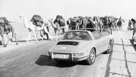 Targa's Tour – an incredible journey with the 911