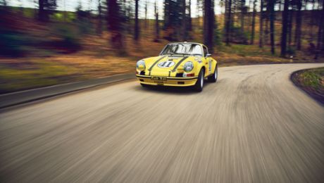 The rich history of a Porsche 911 ST 2.5