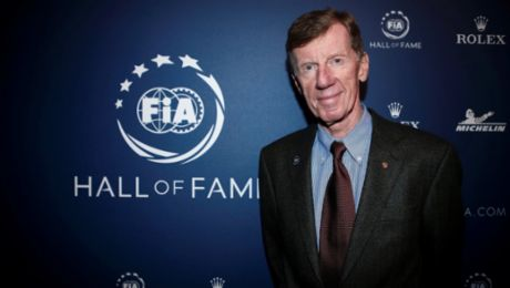 Walter Röhrl inducted into the FIA hall of fame