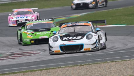 Fourth for the Porsche 911 GT3 R at ADAC GT Masters