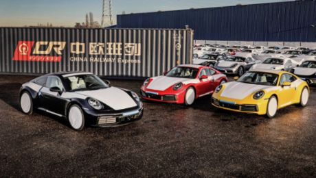 The new Silk Road: Porsche on track in South China
