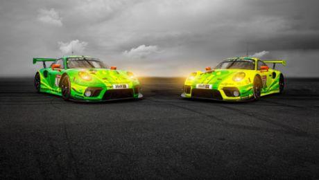 保时捷全新 911 GT3 R 即将全力出击纽博格林 24 小时耐力赛