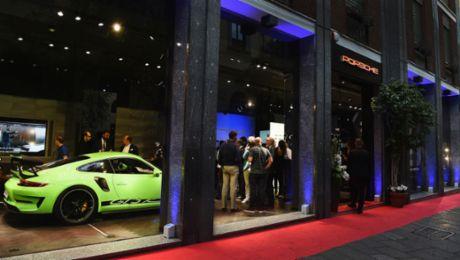 """Neues """"Porsche Studio"""" in Mailand eröffnet"""