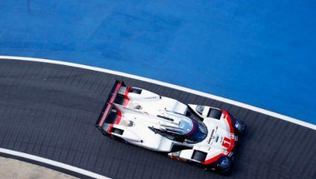 WEC: Porsche 919 Hybrids to start from second row