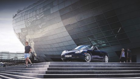 One step ahead with the Boxster 986