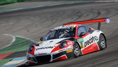 Four Porsche 911 GT3 R tackle the ADAC GT Masters
