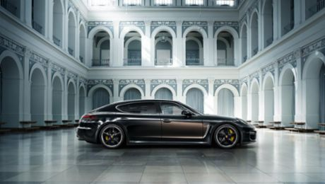 Luxurious limited edition of the Panamera