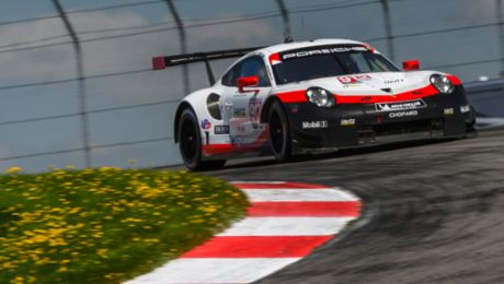 Porsche GT Team targets overall victory at Lime Rock
