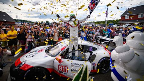 IMSA: Sixth win at round nine for the Porsche GT Team