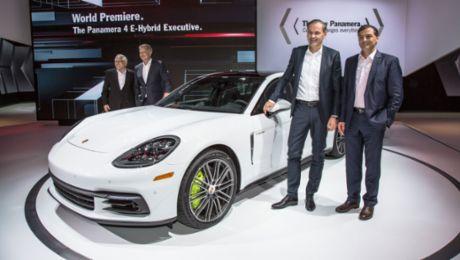 Porsche auf der Los Angeles Auto Show