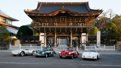 Porsche Museum in Japan: The exotic Mille Miglia