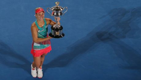 Kerber feiert ersten Grand-Slam-Erfolg