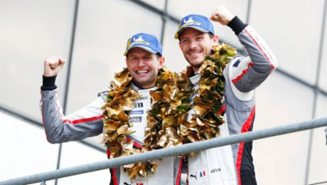 Season finale in Le Mans: Porsche wins all GT titles