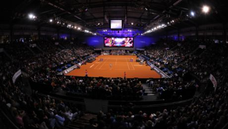 """""""Die schönste Halle im Tennis"""""""