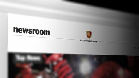Porsche Newsroom online