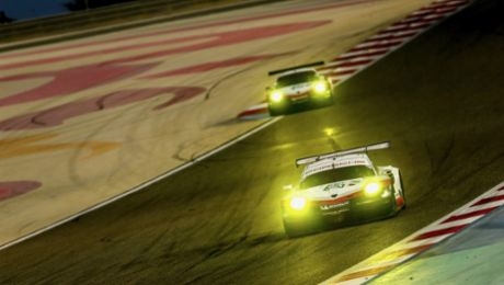 Porsche pilots second in the world championship