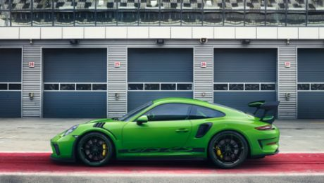 A clear focus on motorsport: the new Porsche 911 GT3 RS