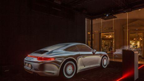 Sound of Porsche in Moscow