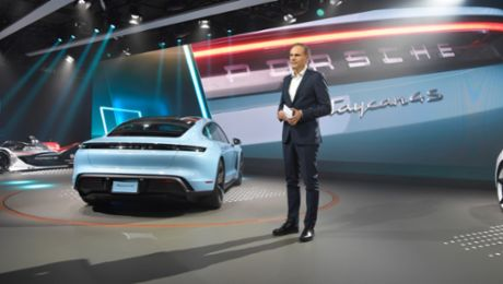 Porsche at the Los Angeles Auto Show 2019
