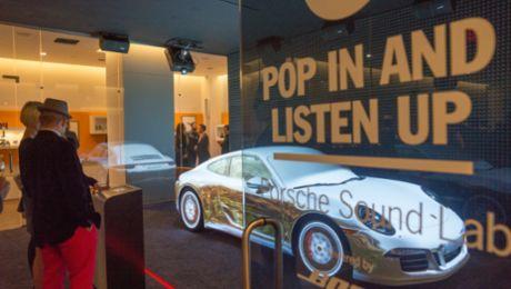 Porsche opens pop-up store