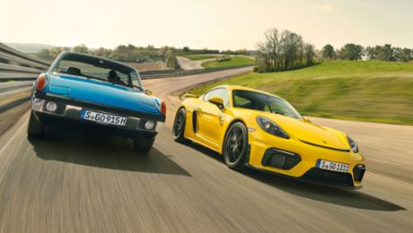 Right in the Middle: Porsche and the Mid-Engine Concept