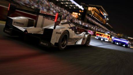 Virtuelles Rennen über 24 Stunden in Le Mans