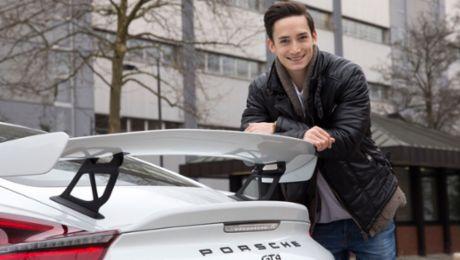 Marcel Nguyen: Ambassador for Porsche