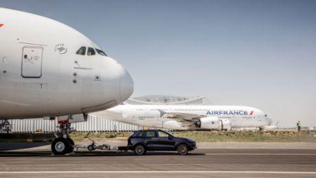 保时捷卡宴 VS. 空客 A380