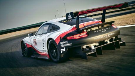 New Porsche 911 RSR for Le Mans