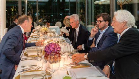 Porsche Consulting: Unternehmer-Dinner in Berlin
