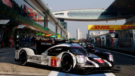 Porsche 919 Hybrid takes pole position