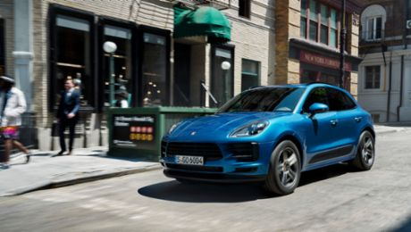 Launch of the new Porsche Macan in Europe