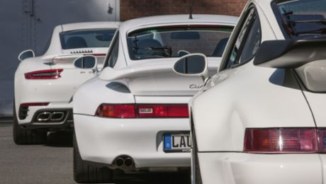 White giants: Three of the best sports cars