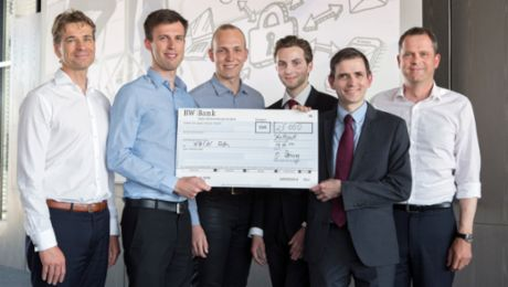 "Xain AG wins ""Porsche Innovation Contest"""