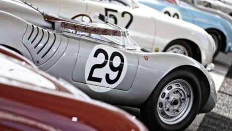 Воссоединение семьи. Porsche Rennsport Reunion VI