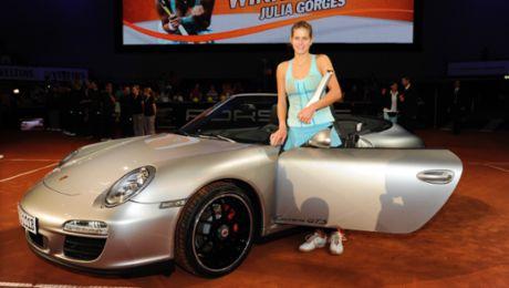 Julia Görges to be a Porsche Brand Ambassador